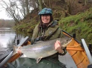 Largest fish caught on the Tay January 2014