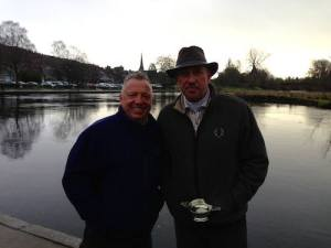 FishPal's Gary Scott with Sir Ian Botham