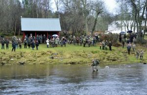 River Dee opening day