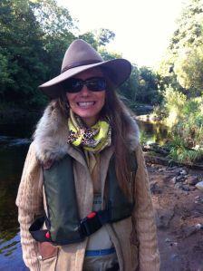 Claire Mercer Nairne Meikleour Fishing